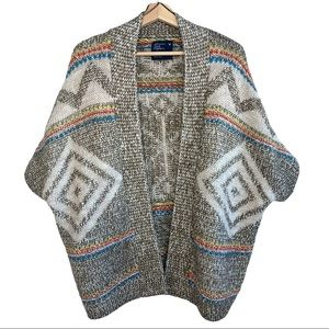 American Eagle Alpaca Wool Blend Boho FairIsle